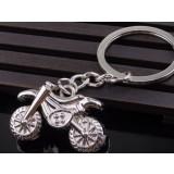 Motorcycle zinc alloy keychain