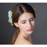 Multi-colored bridal hair accessories