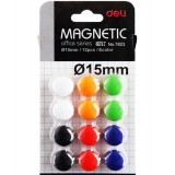 Multi-colored whiteboard magnetic nail