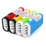 Multi-function mini rechargeable LED flashlight