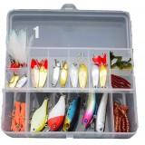 Multi-standard fishing lure set + box