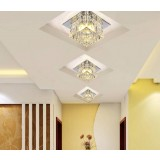 Multicolor Crystal 3W LED ceiling lights