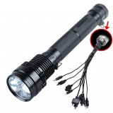 Multifunction 35-85W HID Flashlight