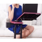 Multifunction adjustable laptop table