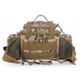 Multifunction camouflage nylon shoulder bag
