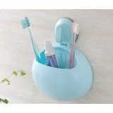 Multifunction lovers toothbrush holder
