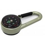 Multifunction Mini Keychain Compass
