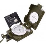 Multifunctional waterproof camping metal compass