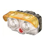 Multipurpose 2LED bicycle headlight