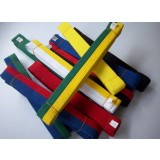 Multipurpose colorful cotton karate belt