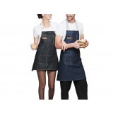 Multipurpose fashion denim aprons