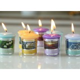 Natural aromatherapy candle