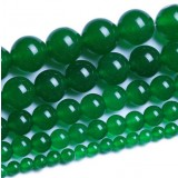 Natural emerald beads chain