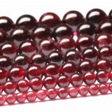 Natural garnet crystal beads chain