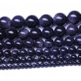 Natural magic purple crystal bead chain