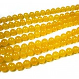 Natural topaz crystal beads chain