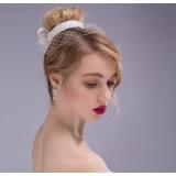 Net Yarn bow hair accessories