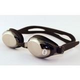 Non-slip silicone swimming goggles with diopter