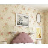 Non-woven 3D flowers wall stickers
