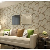 Non-woven geometric patterns wall stickers