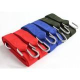 Nylon belts + S-Type hooks for hammock