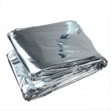 Outdoor life-saving emergency thermal insulation blanket