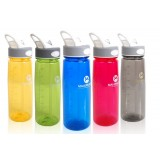 Outdoor sports water bottles with hook