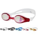 Oval antifogging swimming goggles