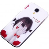 Painted cover for Samsung Galaxy S4