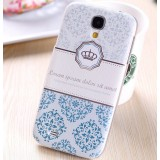 Painted phone protection cover for Samsung S4