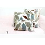 Pastoral style cotton pillow