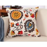 Pastoral style cotton pillow cover