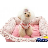 Pastoral style pet bed