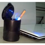 PBT plastic multipurpose LED Ashtray