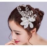 Pearl flowers hair accessories