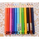 pencil style 11cm color pens