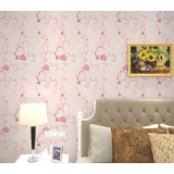 Pink heart wall stickers