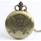Pirate Skull series necklace watch