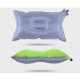 Polyester + PVC coating self-inflating pillow