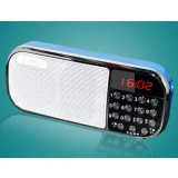 Portable Card Radio / mp3 music player