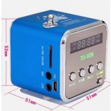 Portable card speaker / mp3 Mini Speaker / radio