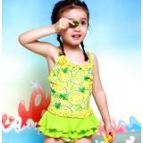 Printing children one-piece swimwear