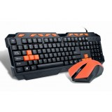 Professional gaming keyboard and mouse set
