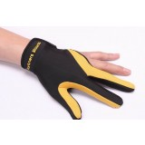 Professional three-finger gloves for billiards