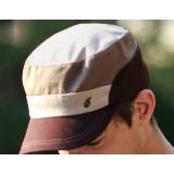 Pure cotton leisure flat hat