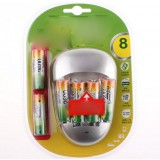 Rechargeable AA Battery Pack / 2600 mA * 6