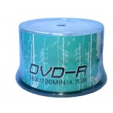 Recordable disk DVD-R 4.7G 16X blank Media 50 disc