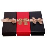 Rectangular chocolate packing box