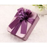 Rectangular iron wedding favor box