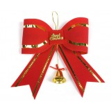 Red Christmas decoration bow